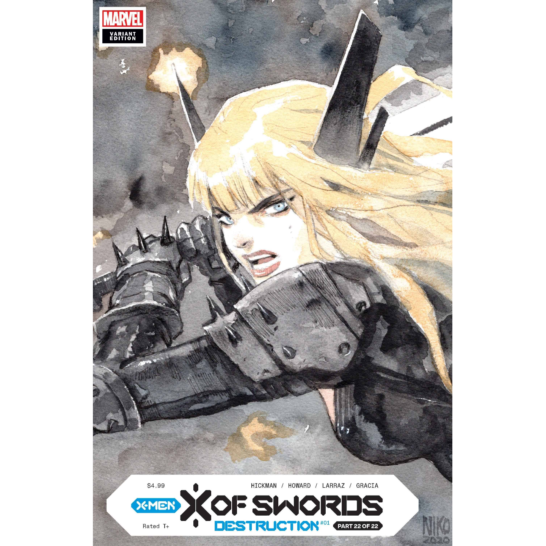 X OF SWORDS DESTRUCTION #1 HENRICHON LCSD VAR