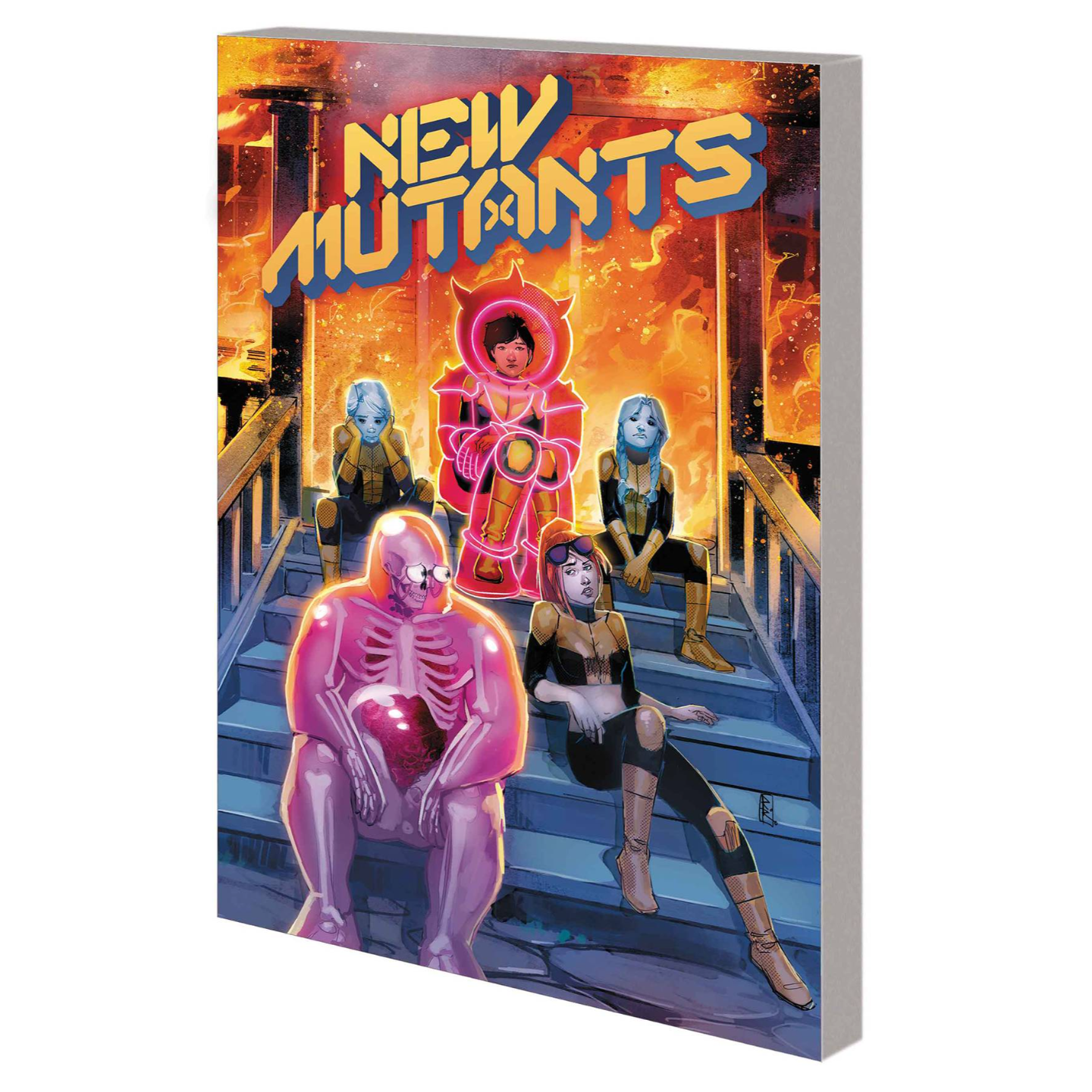 NEW MUTANTS BY ED BRISSON TP VOL 01