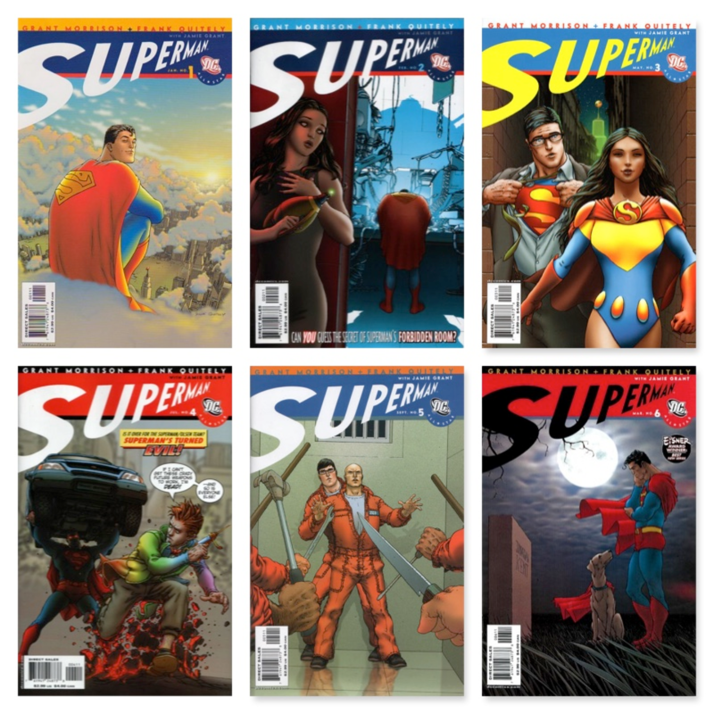 ALL STAR SUPERMAN #1 - #12 (COMPLETE SET)