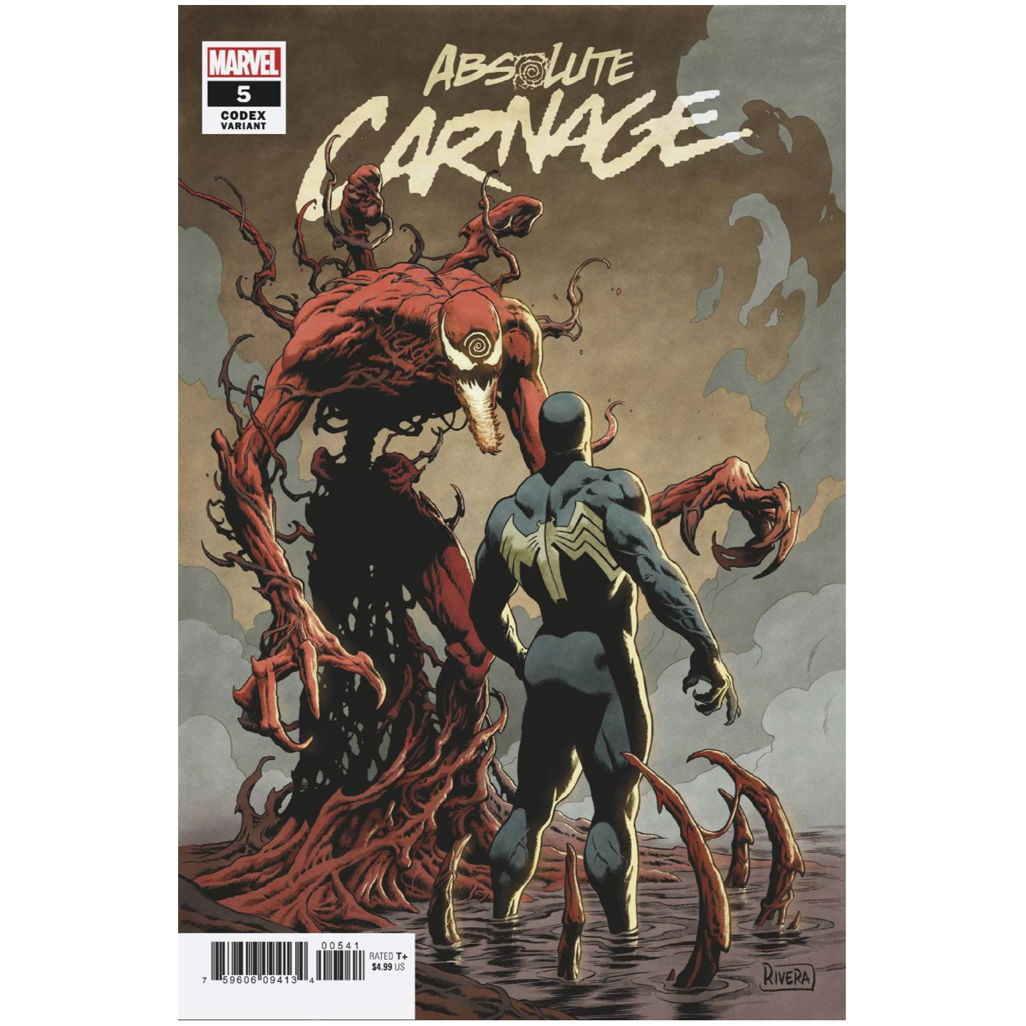 ABSOLUTE CARNAGE #5 - RIVERA CODEX VAR AC