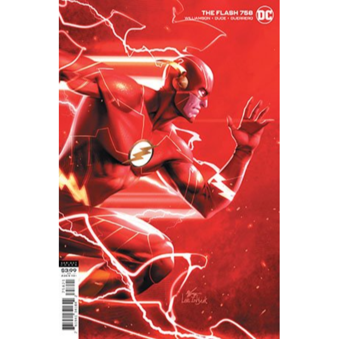 FLASH #758 CVR B INHYUK LEE VAR