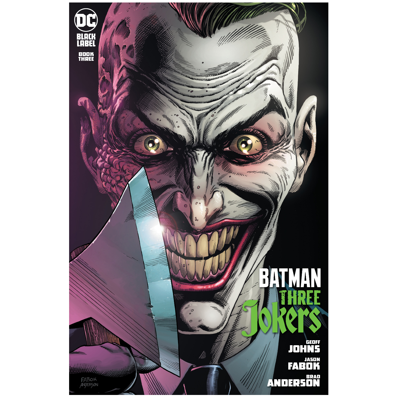 BATMAN THREE JOKERS #3 (OF 3) PREMIUM VAR I ENDGAME MOHAWK (MR)