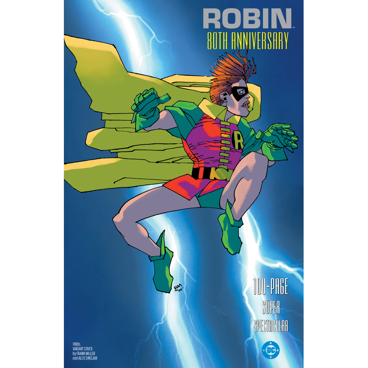 ROBIN 80TH ANNIV 100 PAGE SUPER SPECT #1 1980S FRANK MILLER