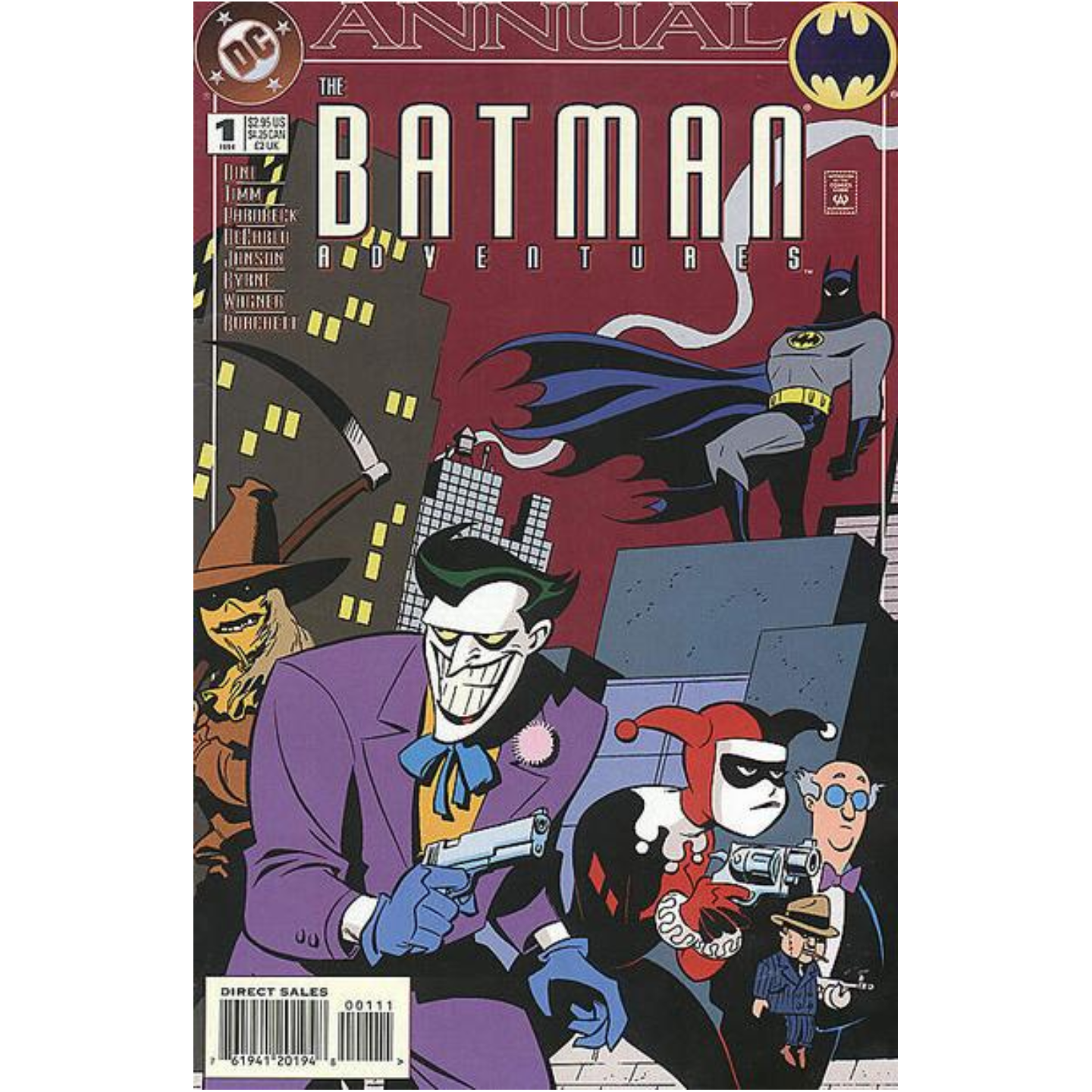 THE BATMAN ADVENTURES ANNUAL 1 KEY ISSUE