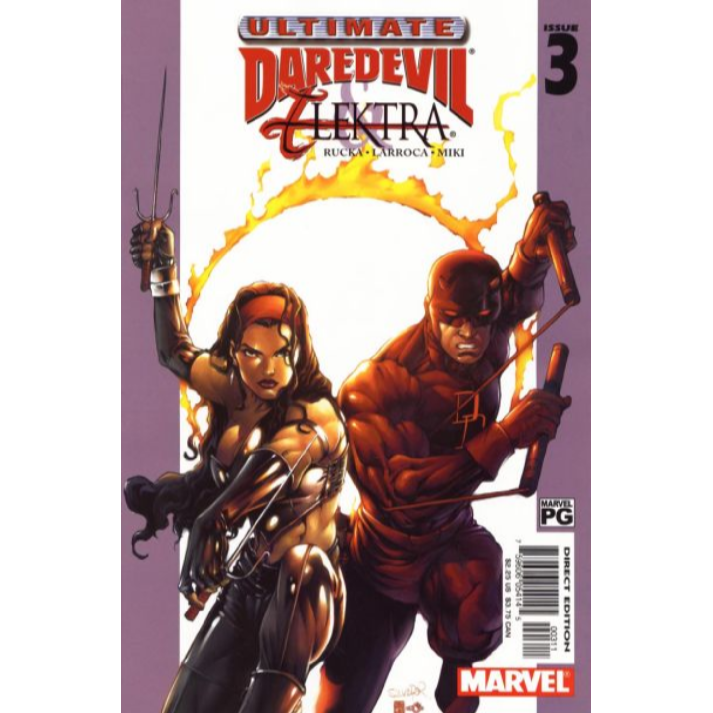 ULTIMATE DAREDEVIL AND ELEKTRA #1 - #4 (COMPLETE SET)