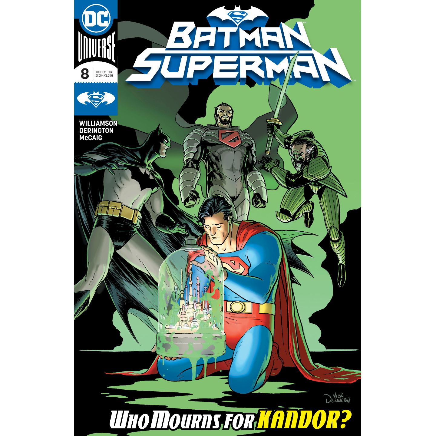 BATMAN SUPERMAN 8