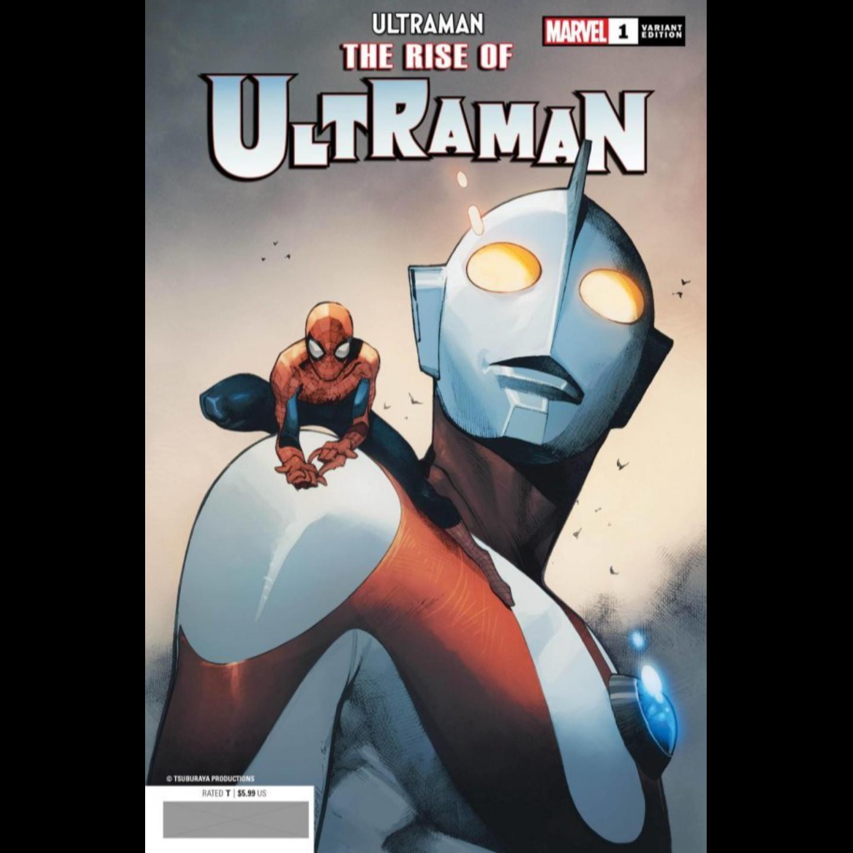 RISE OF ULTRAMAN #1 (OF 5) COIPEL SPIDER-MAN VAR