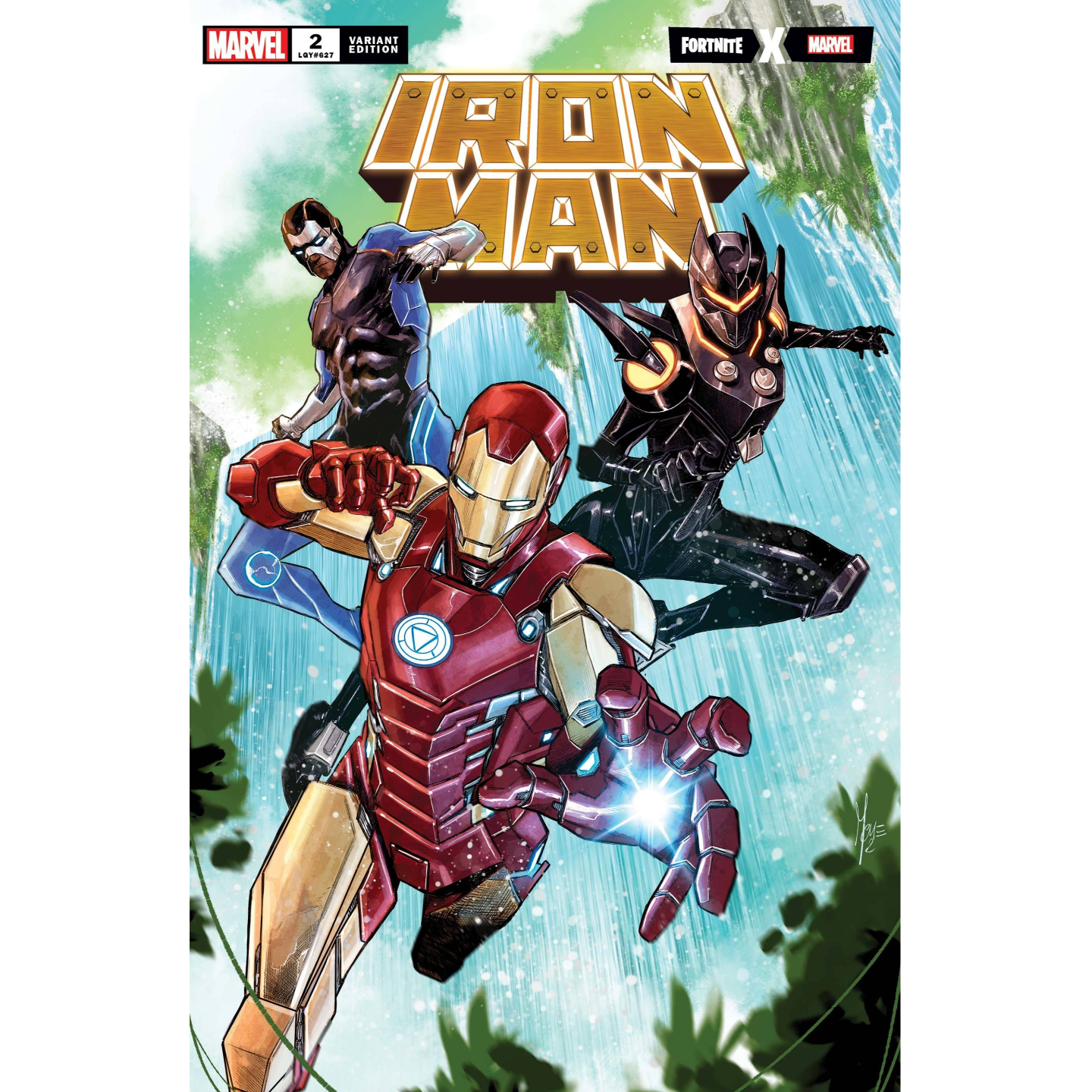 IRON MAN #2 CHECCHETTO FORTNITE VAR