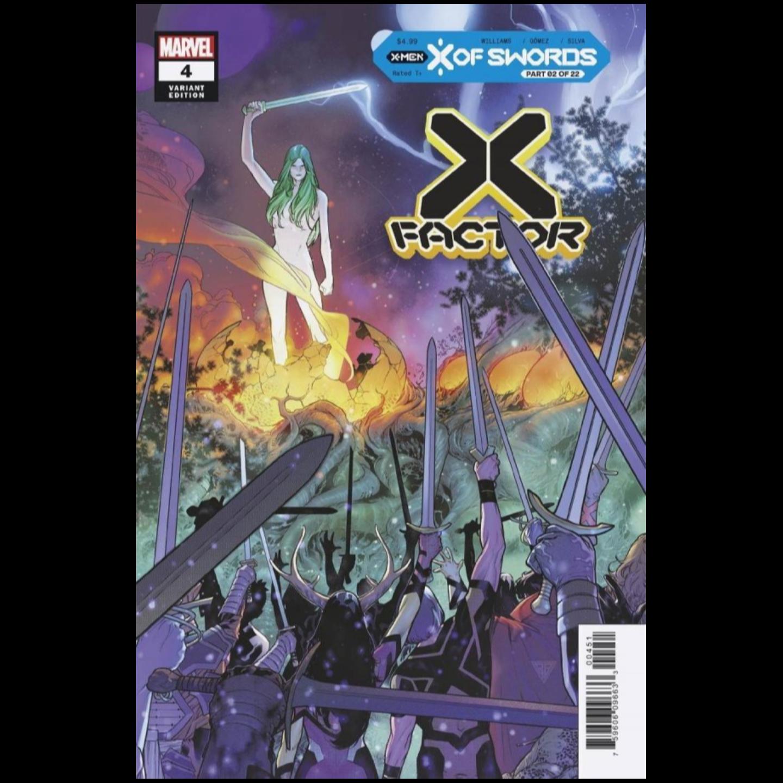 X-FACTOR #4 SILVA VAR XOS