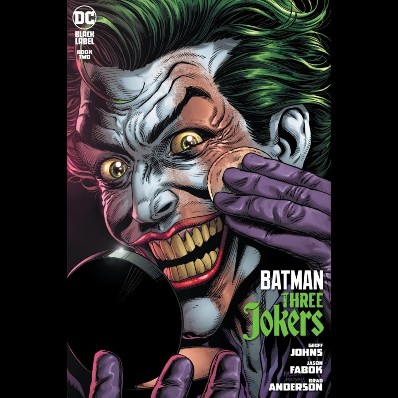 BATMAN THREE JOKERS #2 (OF 3) PREMIUM VAR F APPLYING MAKEUP