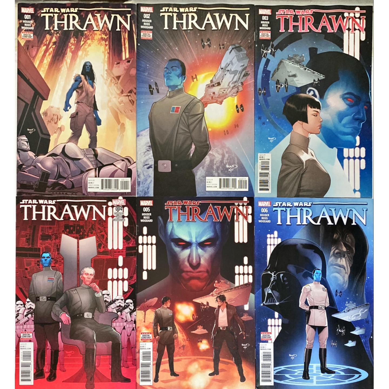 STAR WARS THRAWN #1 - #6