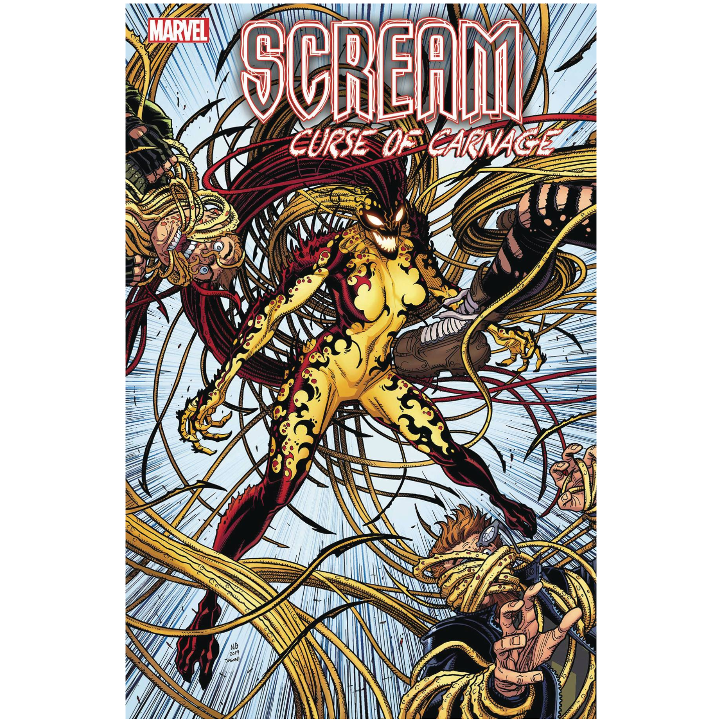 SCREAM: CURSE OF CARNAGE #1 - BRADSHAW VAR