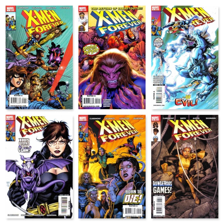 X-MEN FOREVER #1 - #24 (COMPLETE SET)