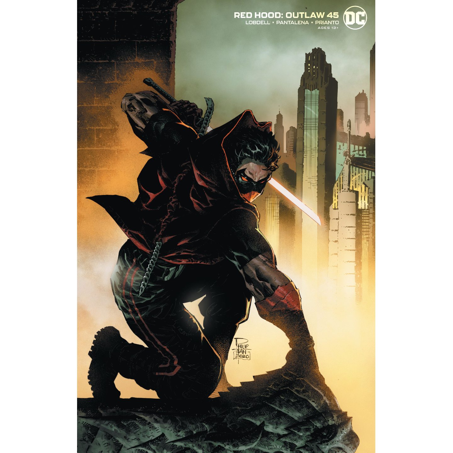 RED HOOD OUTLAW 45 PHILIP TAN VAR ED