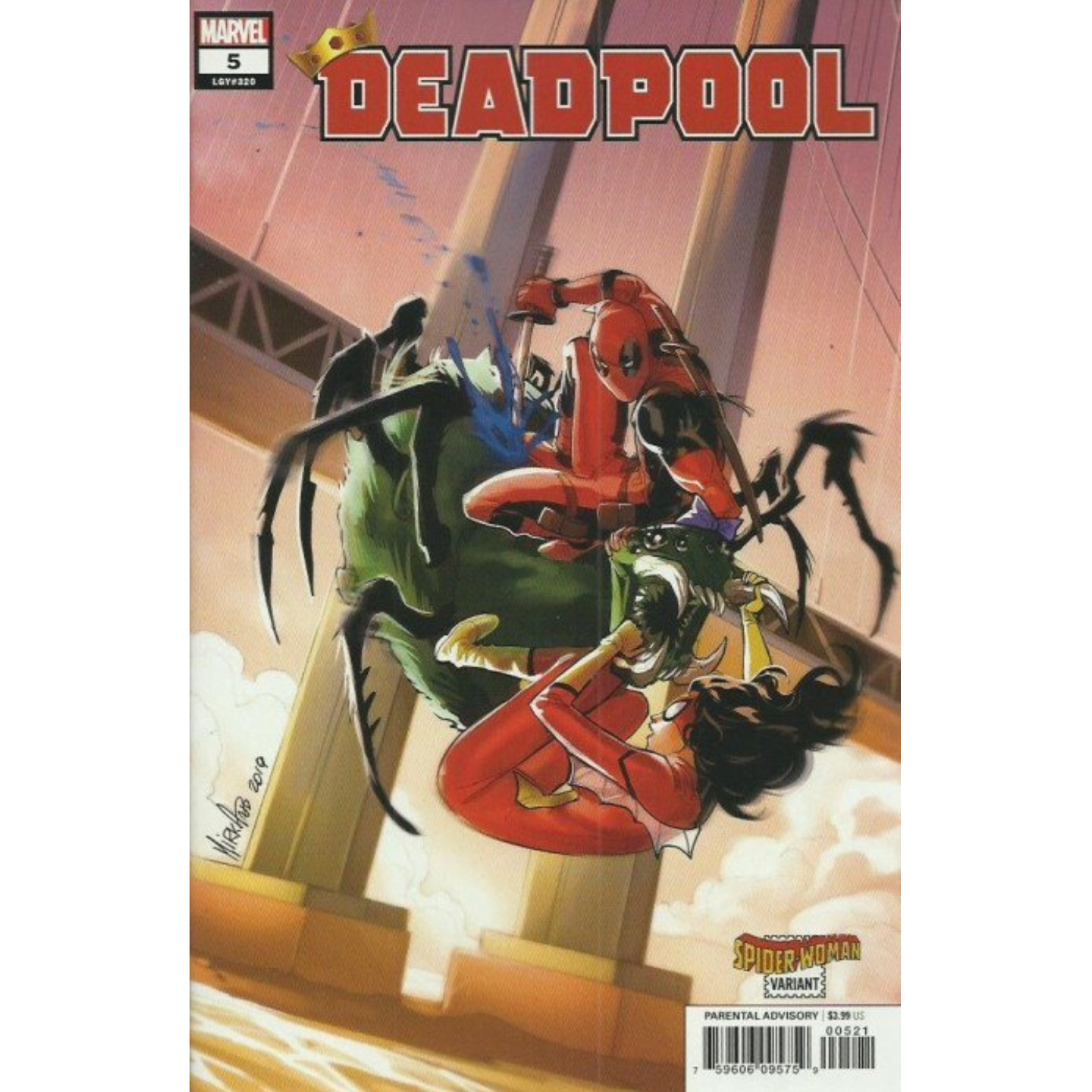 DEADPOOL #5 SPIDER-WOMAN VARIANT