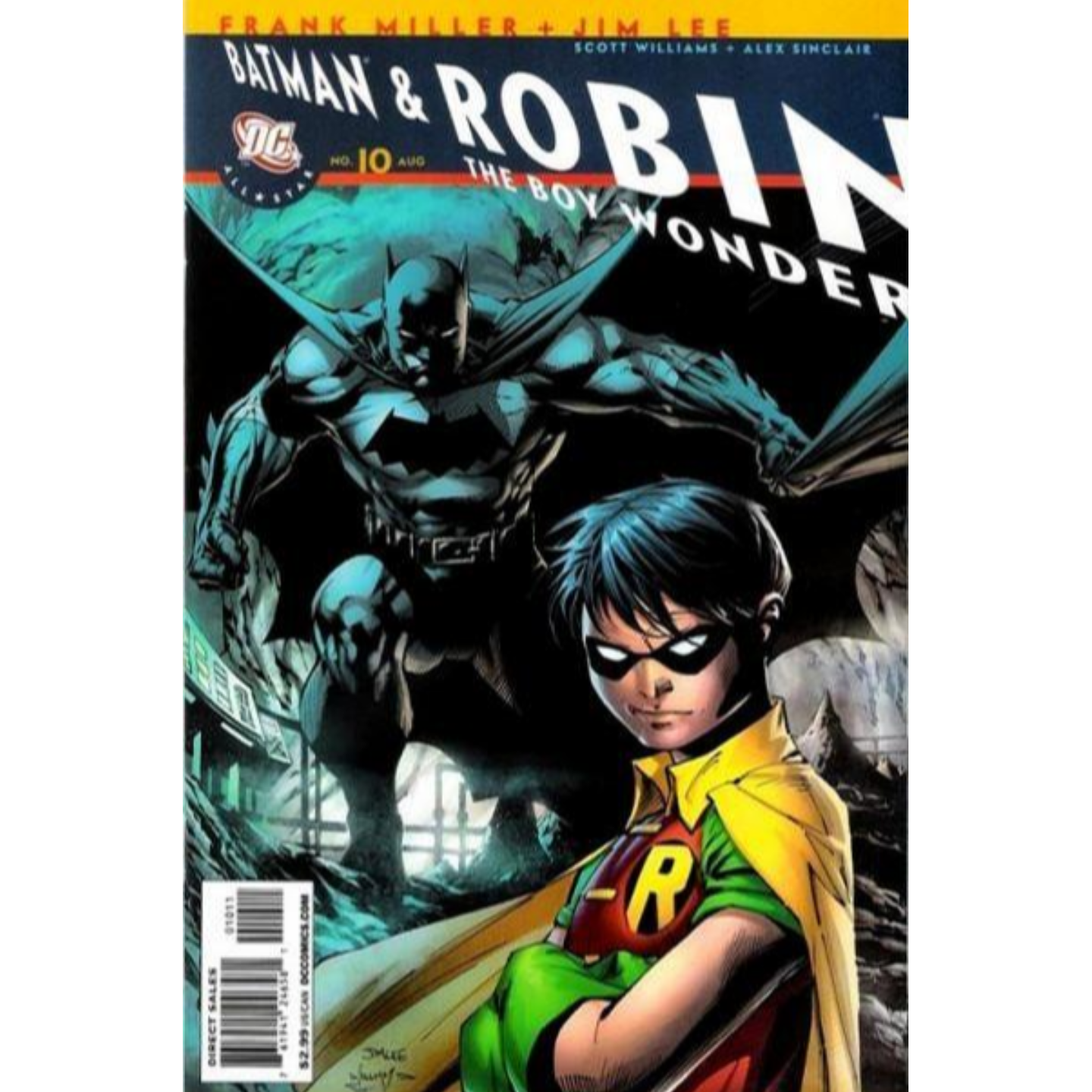 ALL STAR BATMAN AND ROBIN, THE BOY WONDER #1 - #10