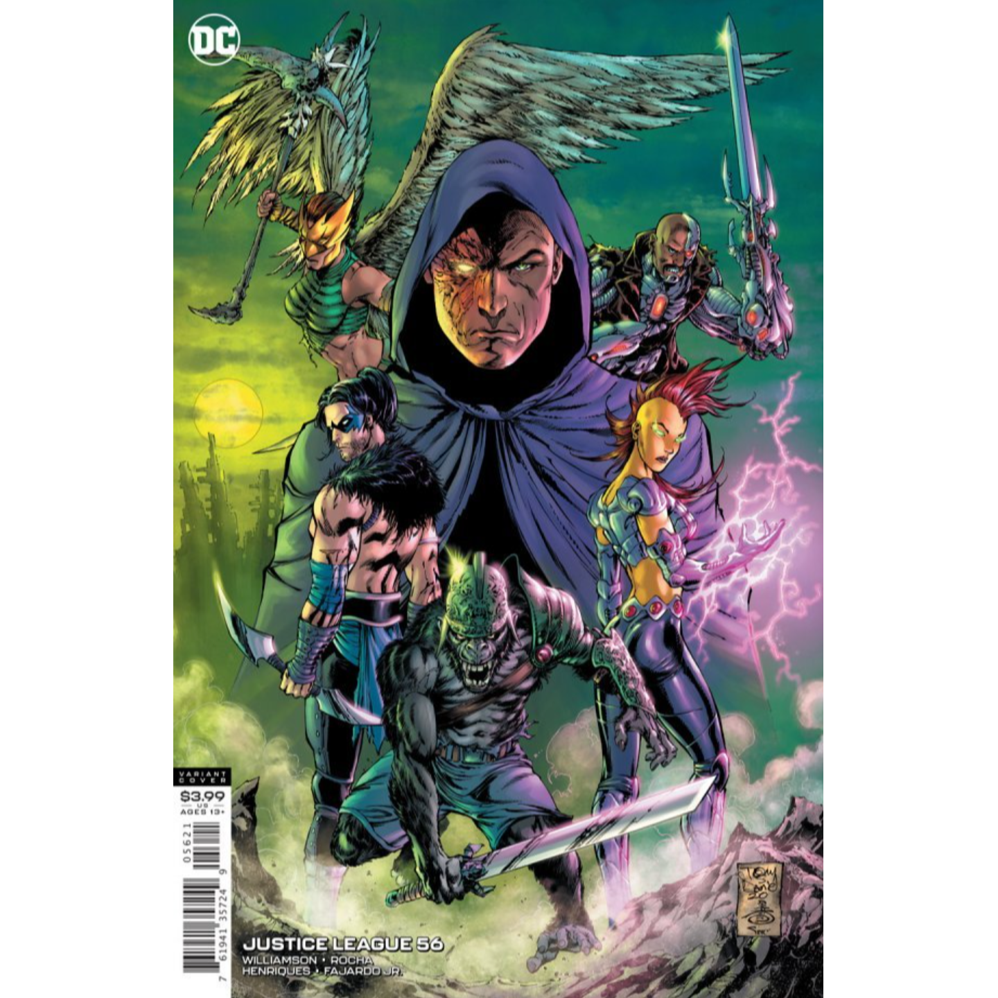 JUSTICE LEAGUE #56 CVR B TONY S DANIEL & DANNY MIKI VAR (DARK NIGHTS DEATH METAL)