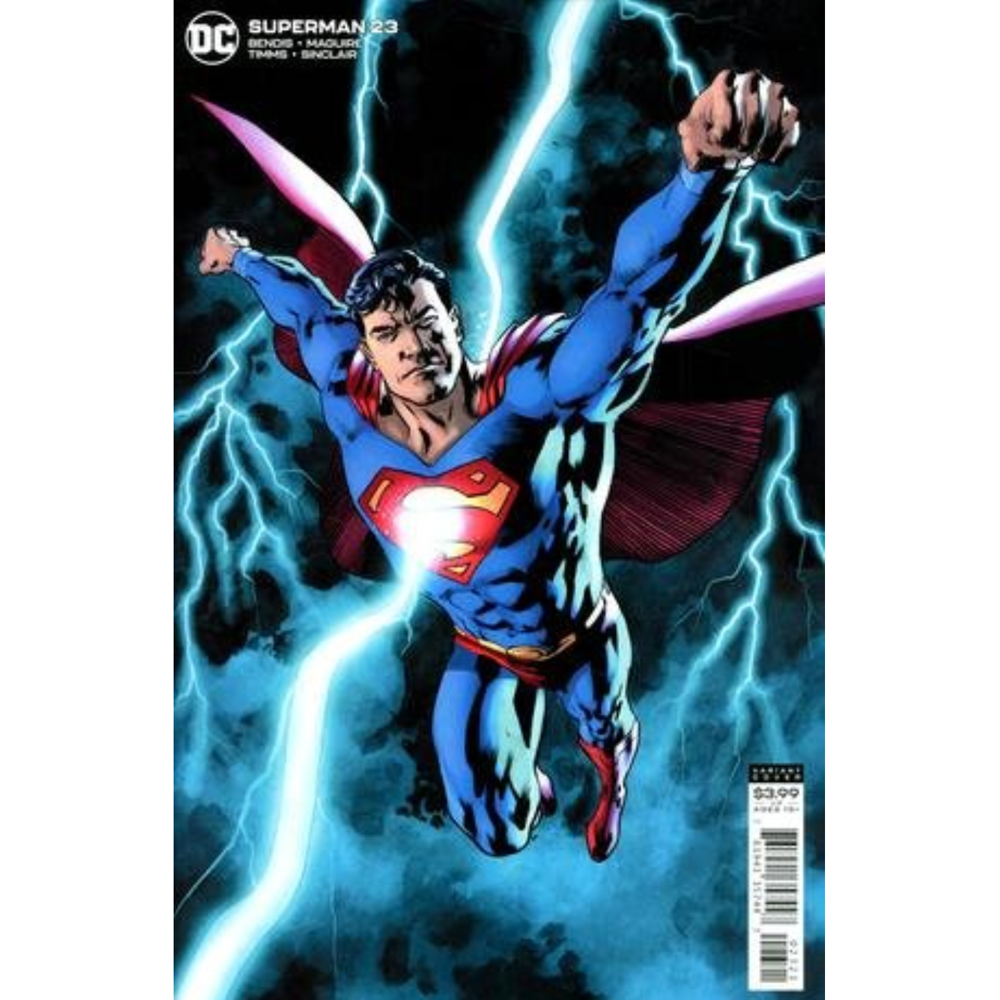 SUPERMAN #23 CVR B BRYAN HITCH VAR