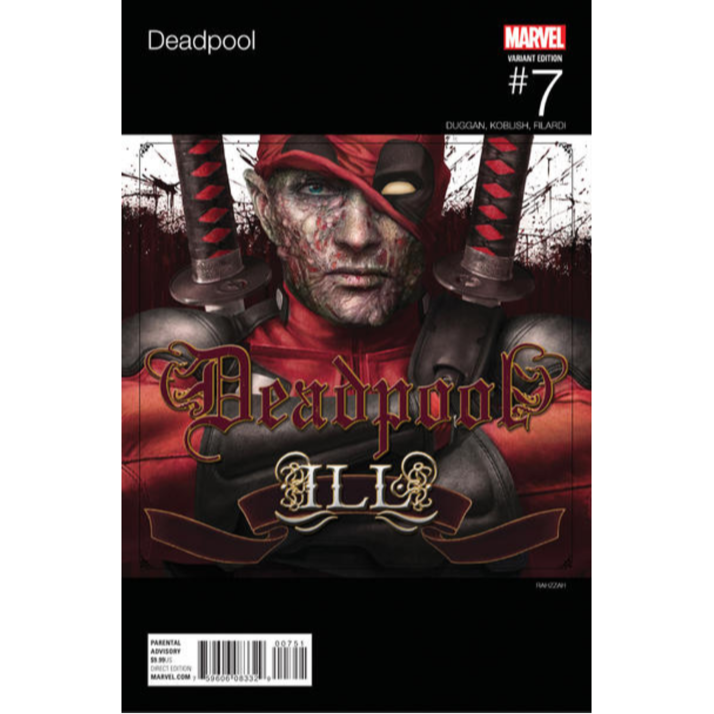 DEADPOOL 7 HIP HOP VARIANT