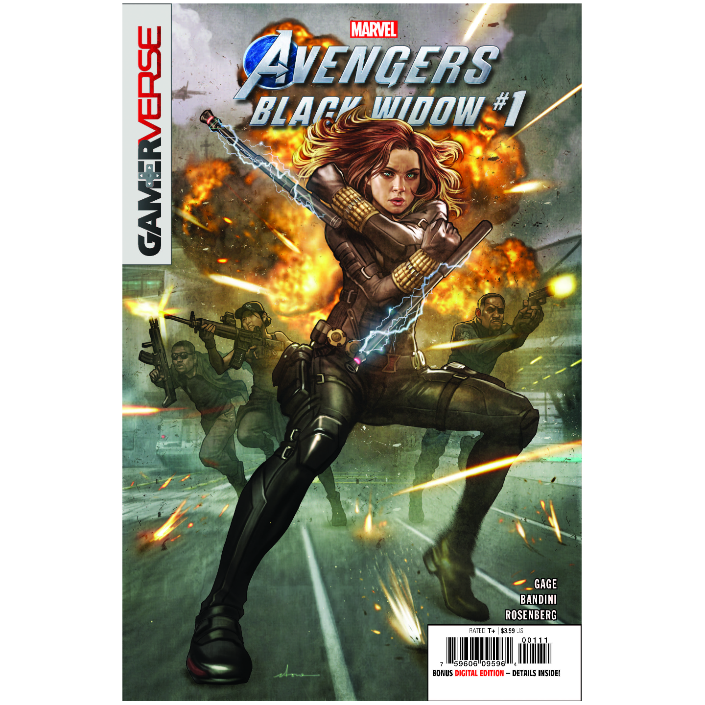 MARVELS AVENGERS BLACK WIDOW 1