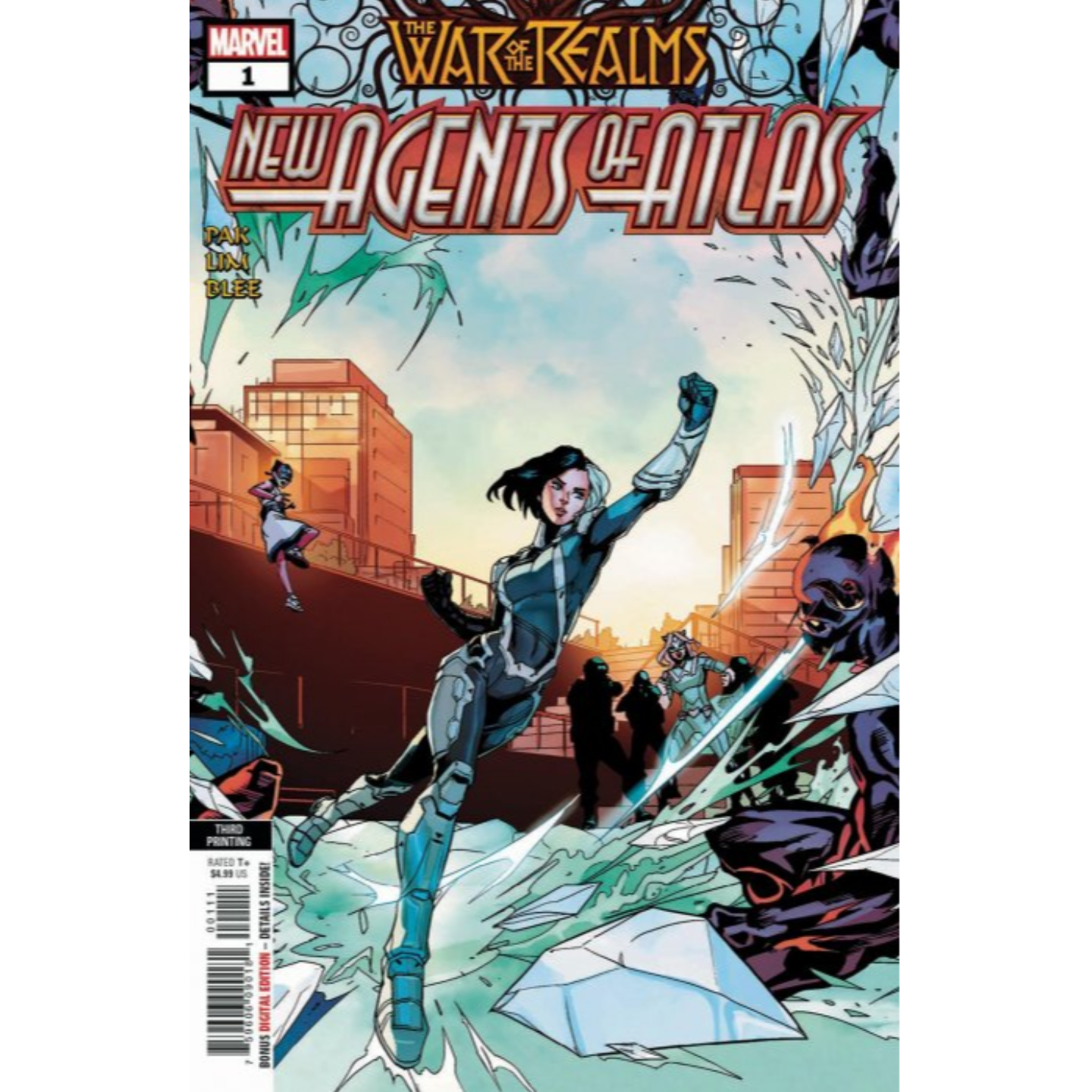 WAR OF REALMS  NEW AGENTS OF ATLAS 1 - 3RD PRINT