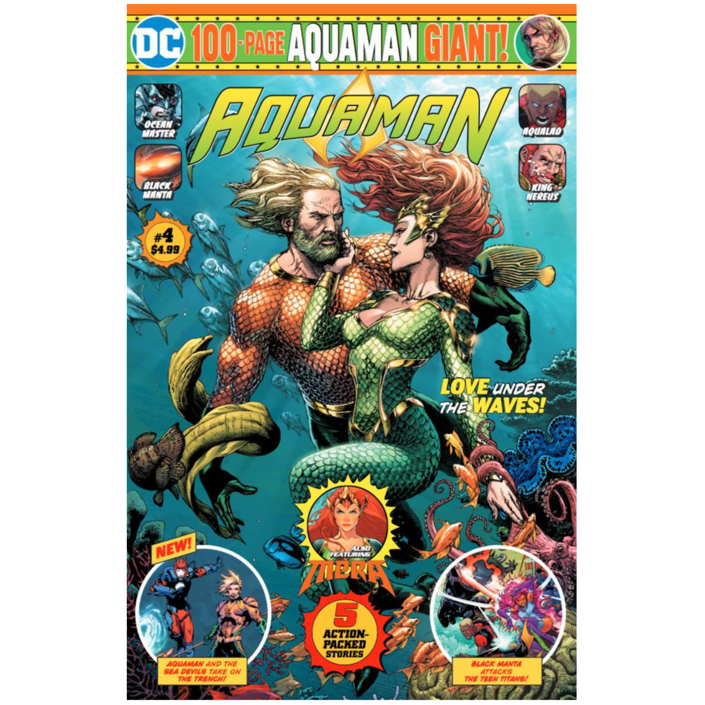 AQUAMAN GIANT #4