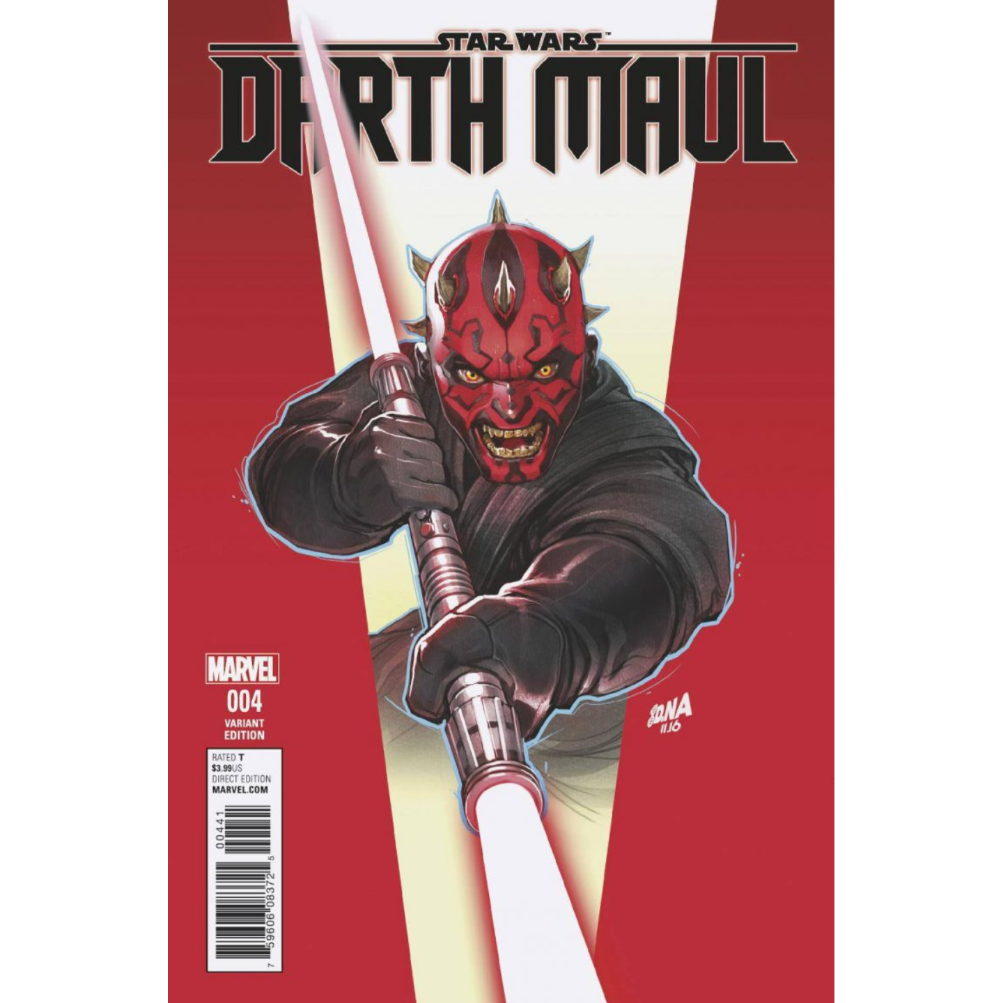 STAR WARS: DARTH MAUL #4 - DAVID NAKAYAMA