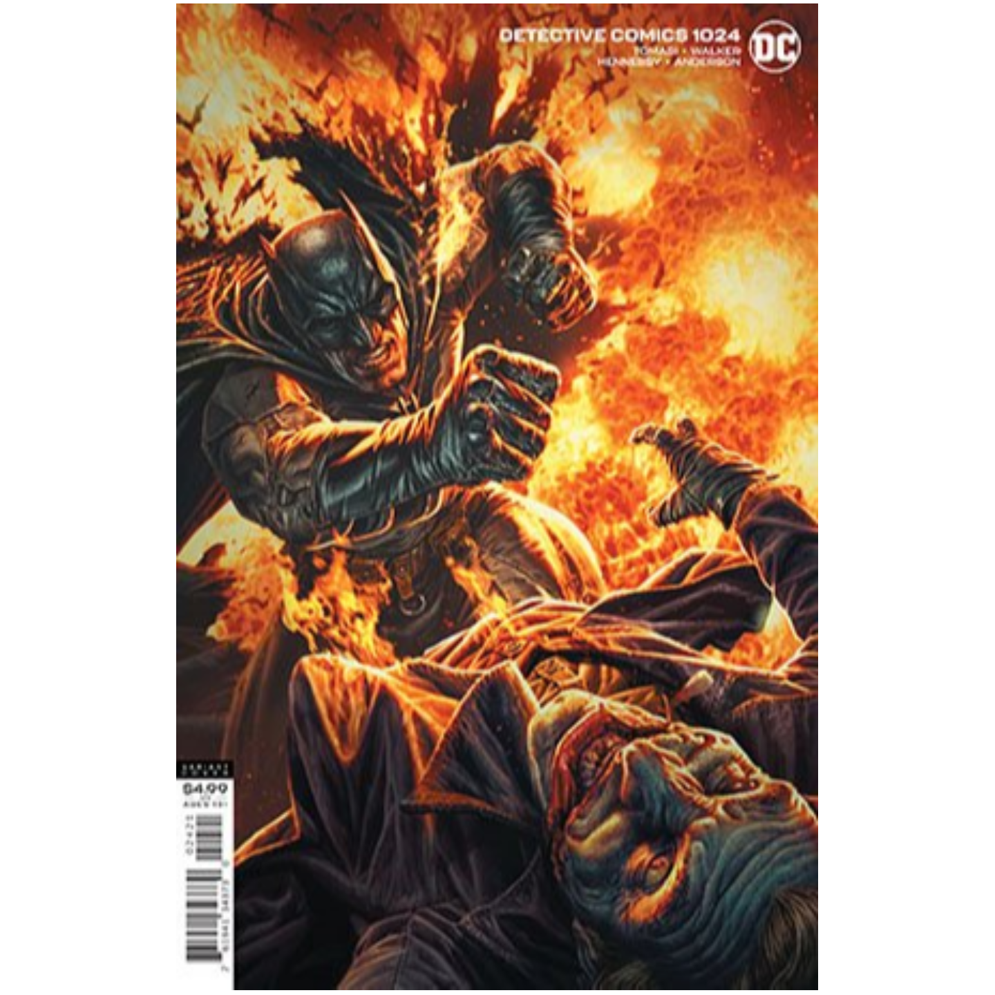 DETECTIVE COMICS #1024 CVR B LEE BERMEJO CARD STOCK VAR (JOKER WAR)