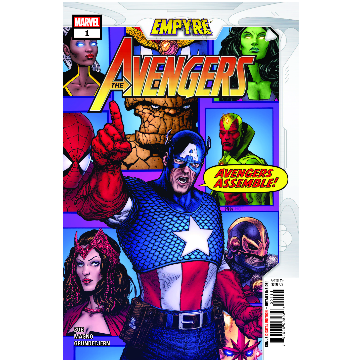EMPYRE AVENGERS #1 (OF 3)