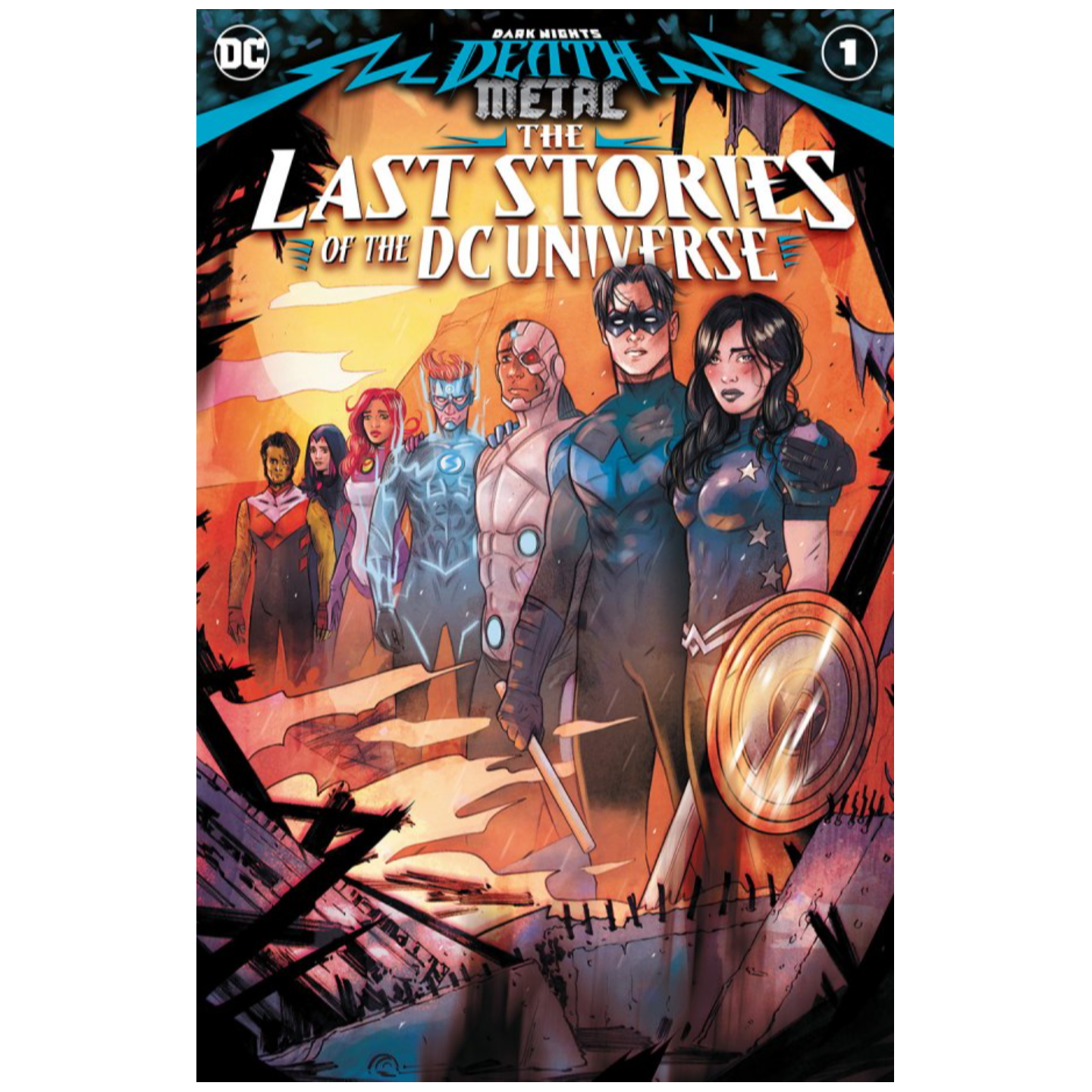 DARK NIGHTS DEATH METAL THE LAST STORIES OF THE DC UNIVERSE #1 (ONE SHOT) CVR A TULA LOTAY