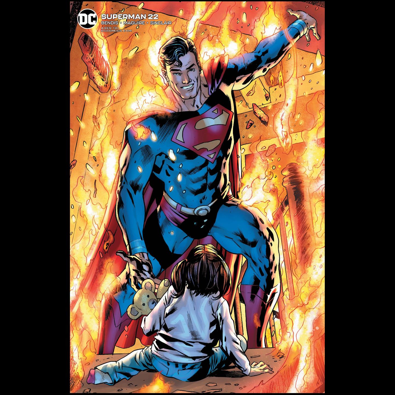 SUPERMAN #22 BRYAN HITCH VAR ED