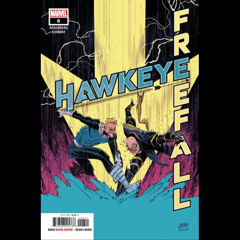 HAWKEYE FREE FALL #6