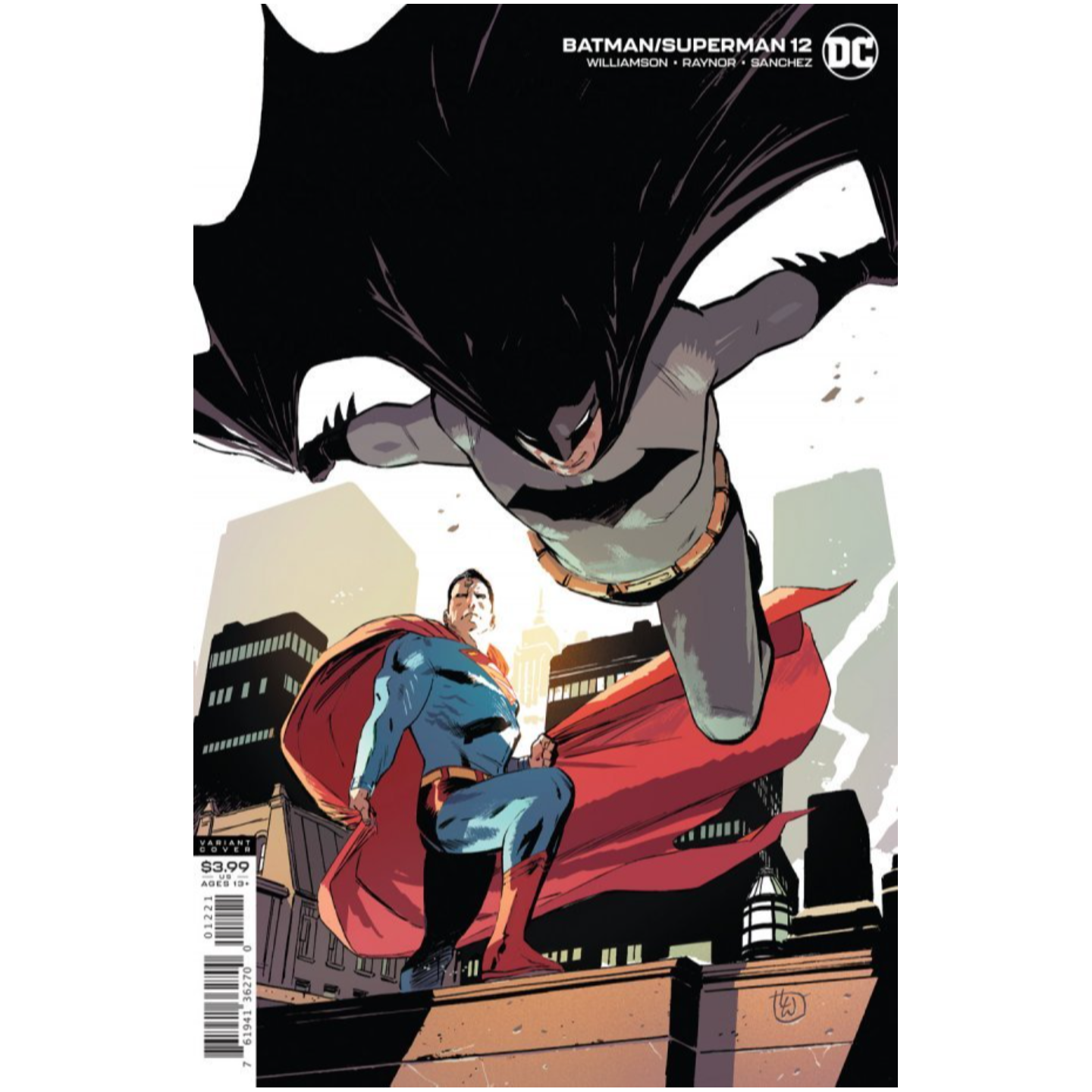 BATMAN SUPERMAN #12 CVR B LEE WEEKS VAR