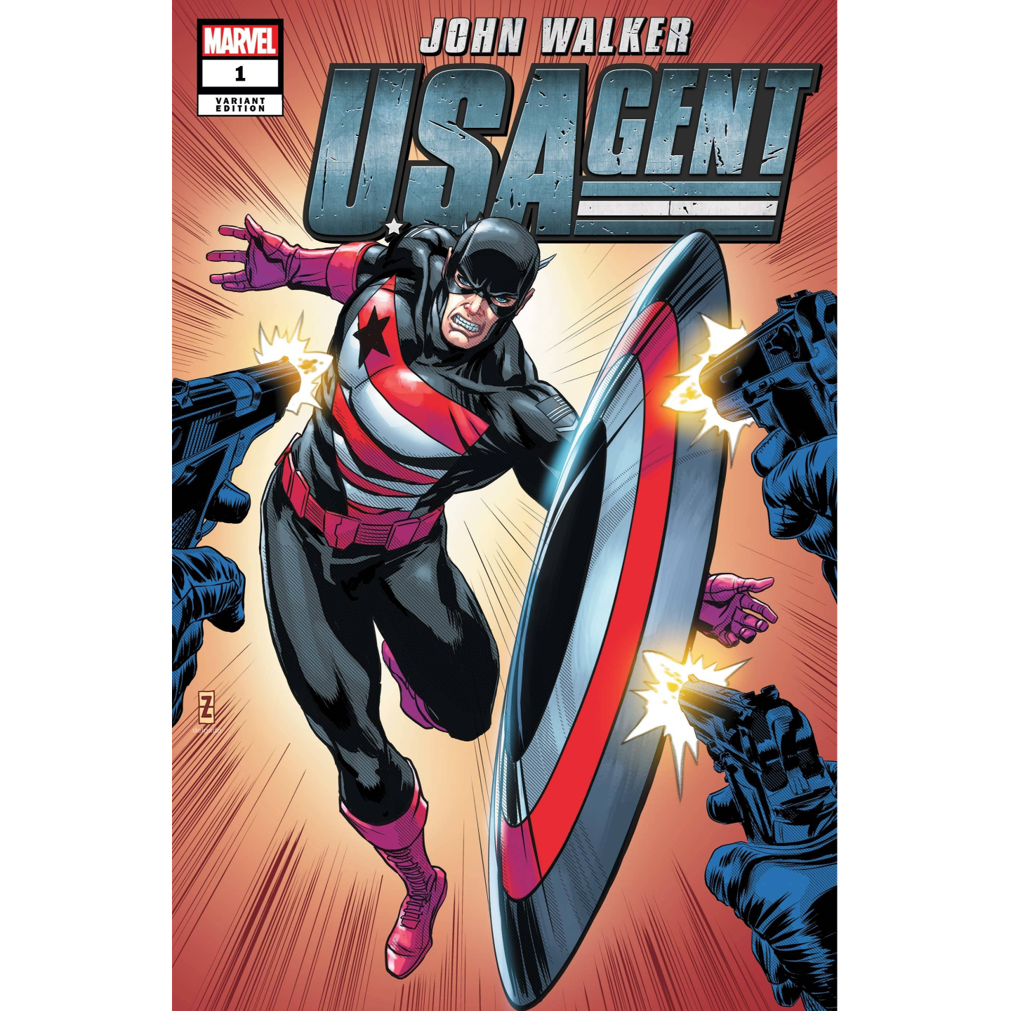US AGENT #1 (OF 5) ZIRCHER VAR