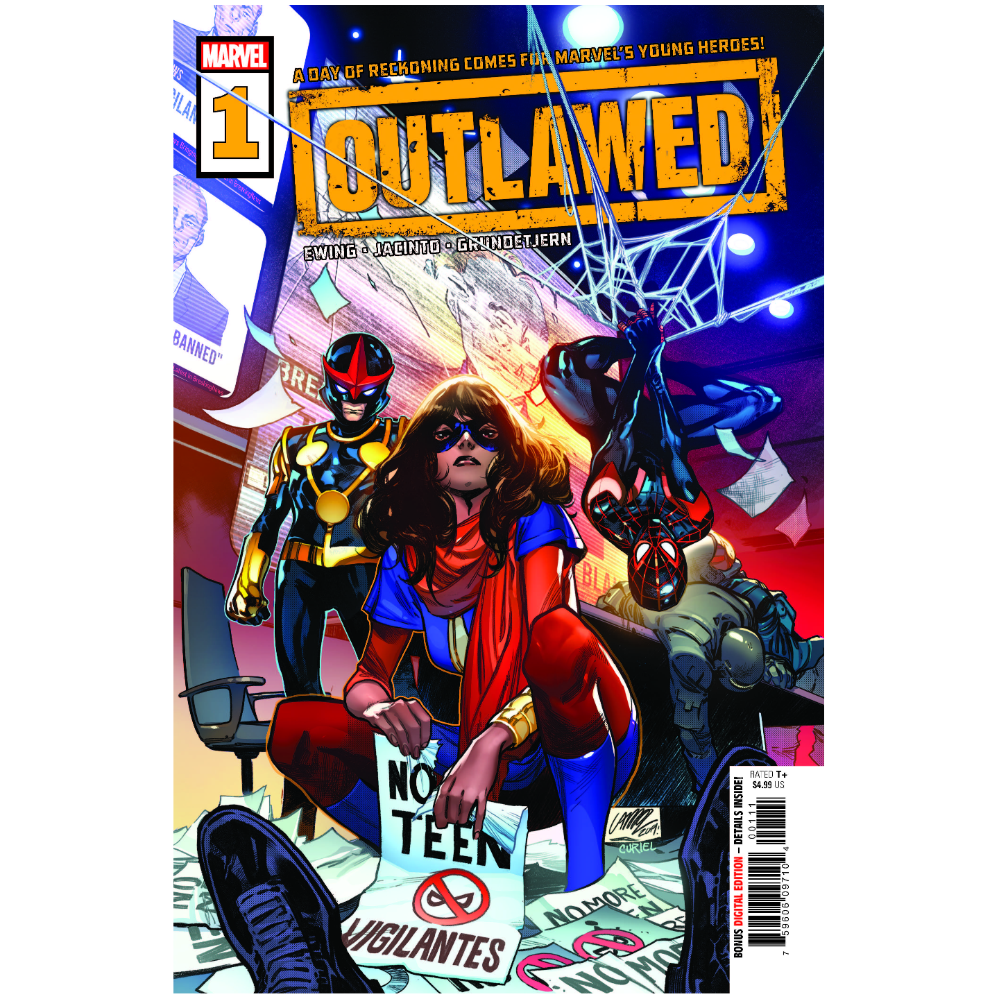 OUTLAWED #1