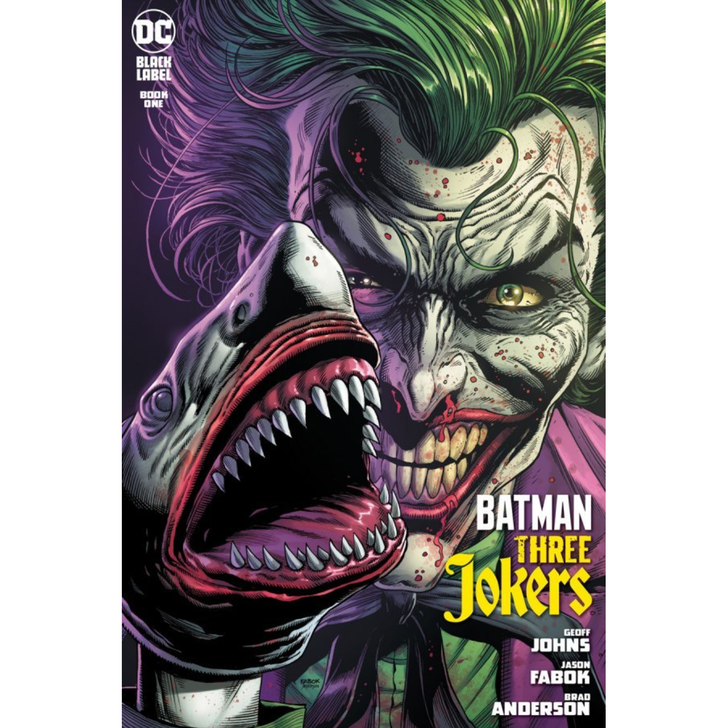BATMAN THREE JOKERS #1 (OF 3) (MR) Second printing