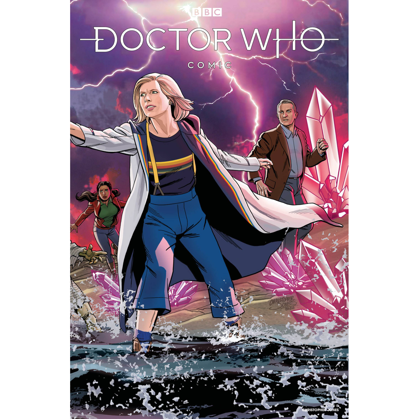 DOCTOR WHO COMICS #4 CVR C JONES