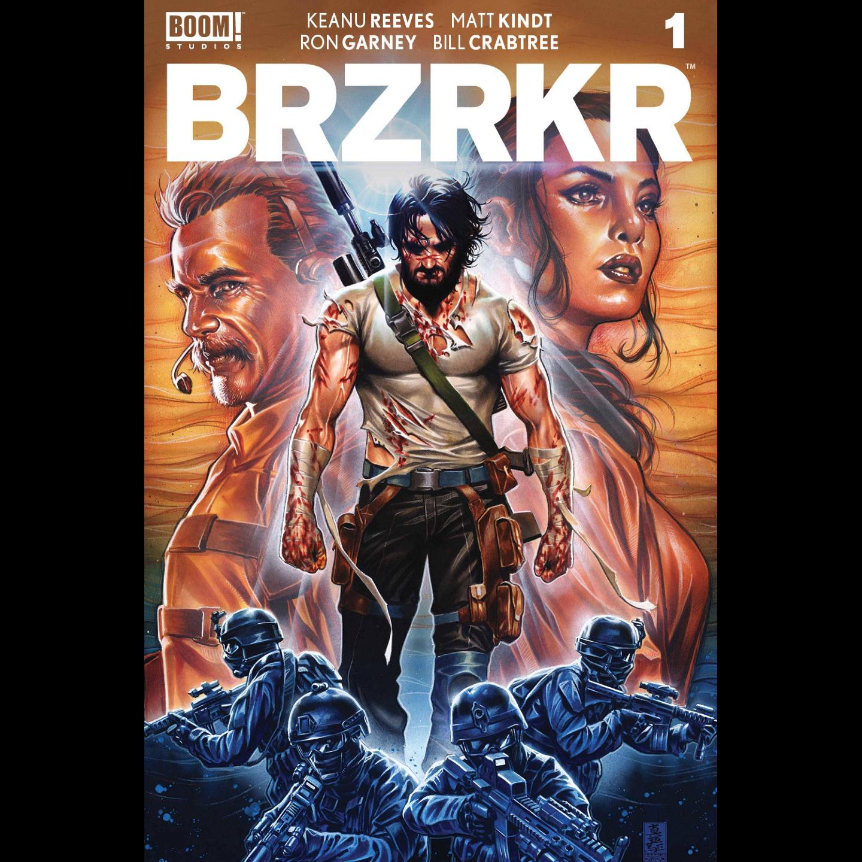 BRZRKR (BERZERKER) #1 CVR B BROOKS (MR)