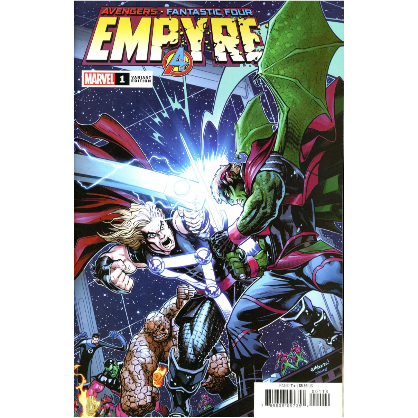 EMPYRE #1 (OF 6) LAUNCH VARIANT