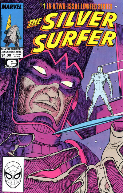 THE SILVER SURFER #1 - #2 (2 ISSUE LIMITED SERIES)