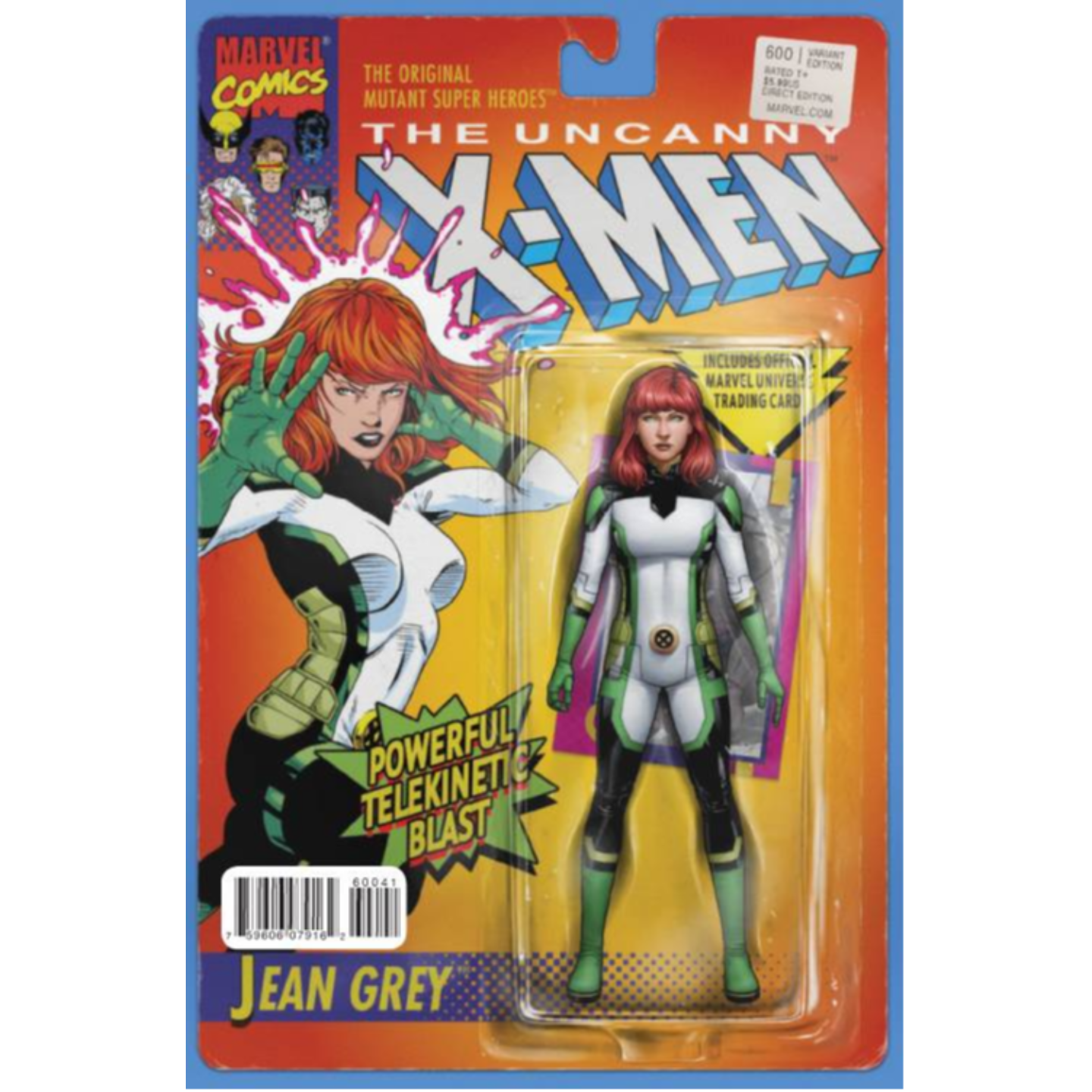 UNCANNY X-MEN #600 JOHN TYLER CHRISTOPHER ACTION FIGURE VARIANT
