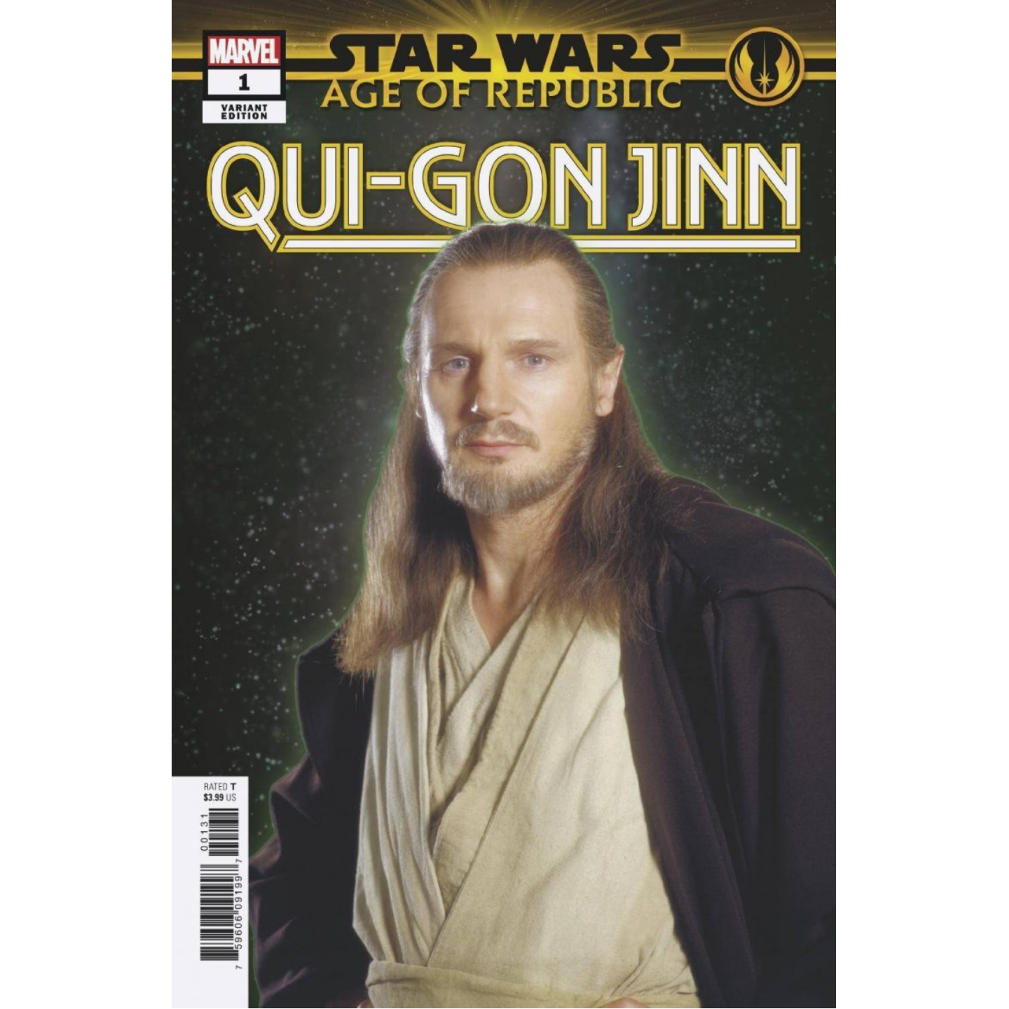 STAR WARS: AGE OF REPUBLIC - QUI-GON JINN - MOVIE VAR