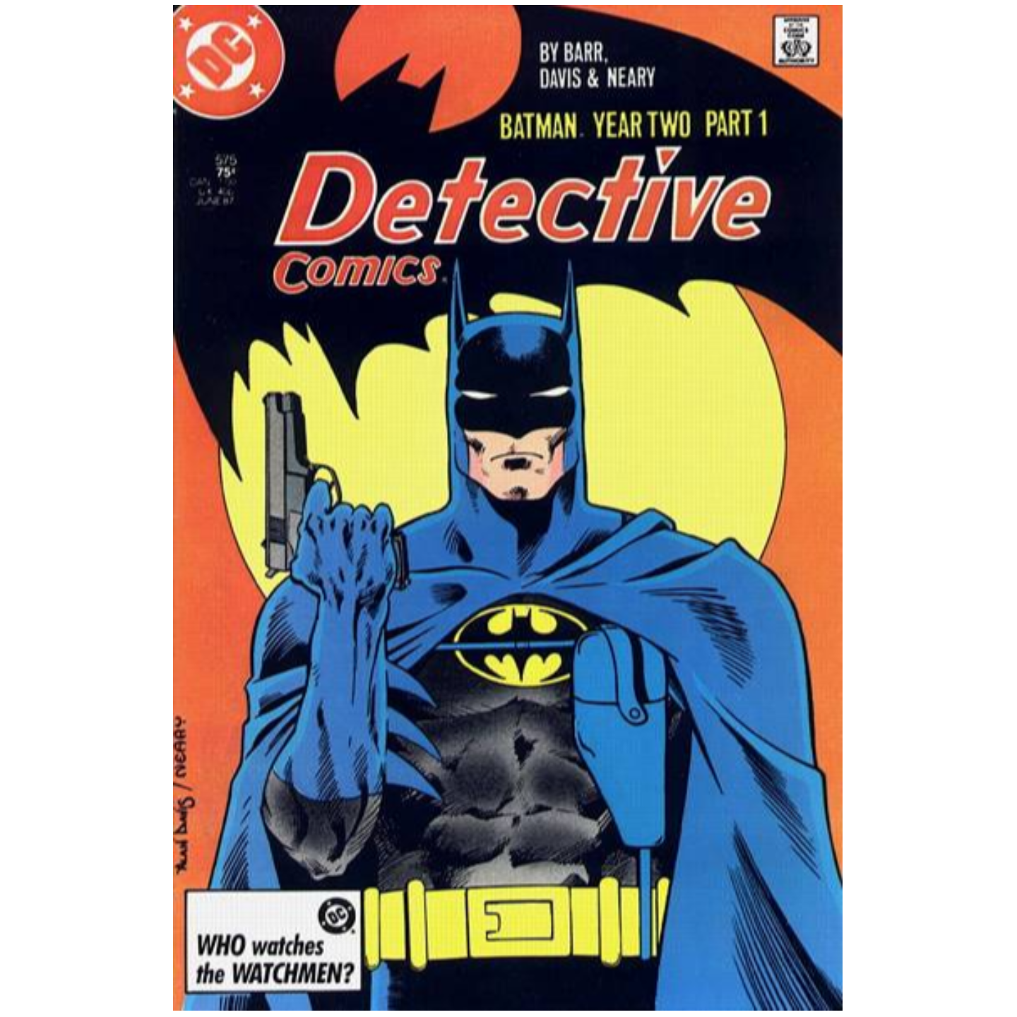 DETECTIVE COMICS #575 - 578 BATMAN YEAR TWO SERIES