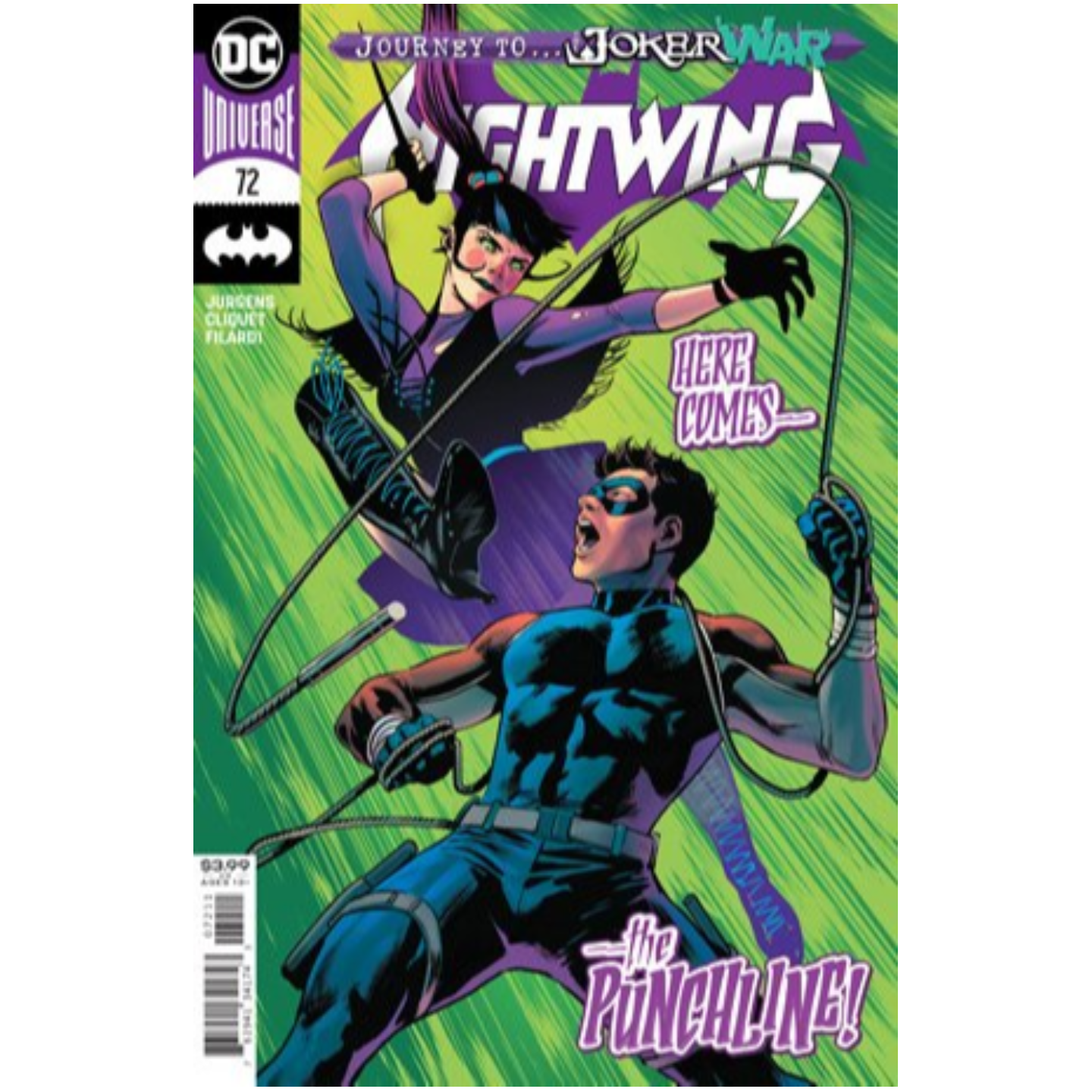 NIGHTWING #72 CVR A TRAVIS MOORE (JOKER WAR)