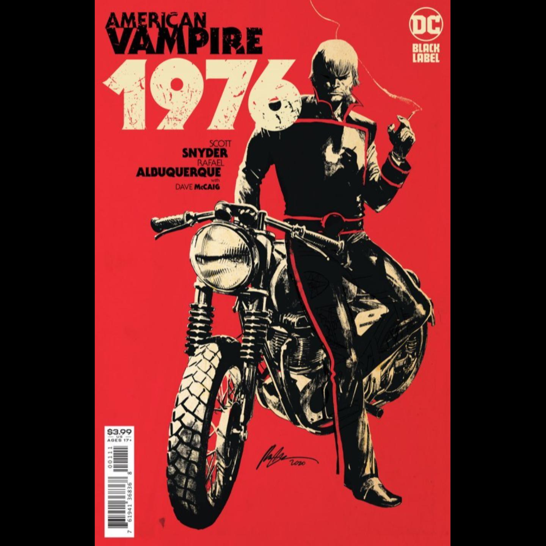 AMERICAN VAMPIRE 1976 #1 (OF 9) CVR A RAFAEL ALBUQUERQUE (MR)