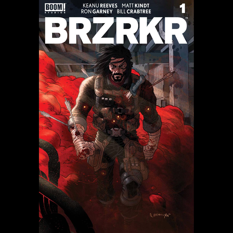 BRZRKR (BERZERKER) #1 CVR C GRAMPA FOIL VAR (MR)