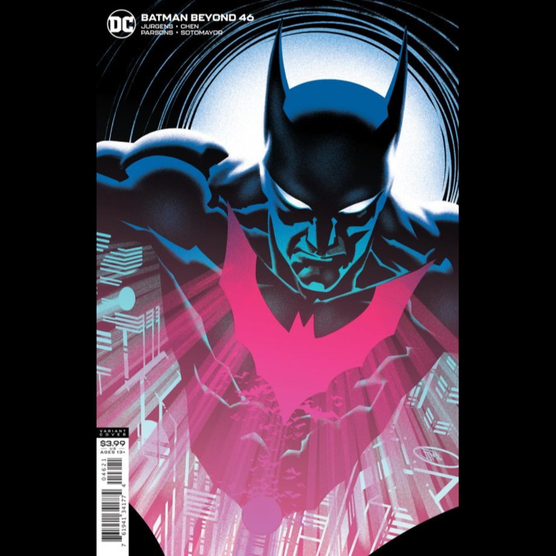 BATMAN BEYOND #46 FRANCIS MANAPUL VAR ED
