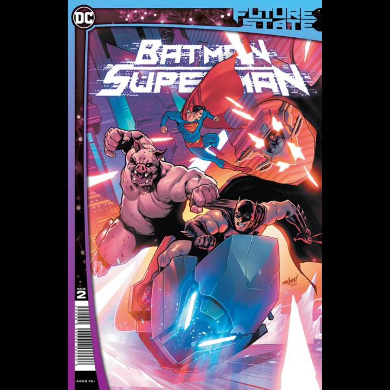 FUTURE STATE BATMAN SUPERMAN #2 (OF 2) CVR A DAVID MARQUEZ