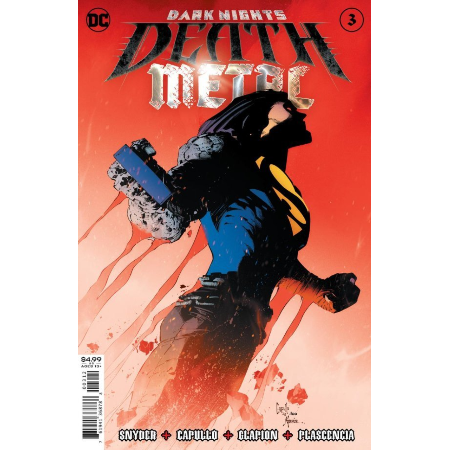 DARK NIGHTS DEATH METAL #3 (OF 6) Second printing