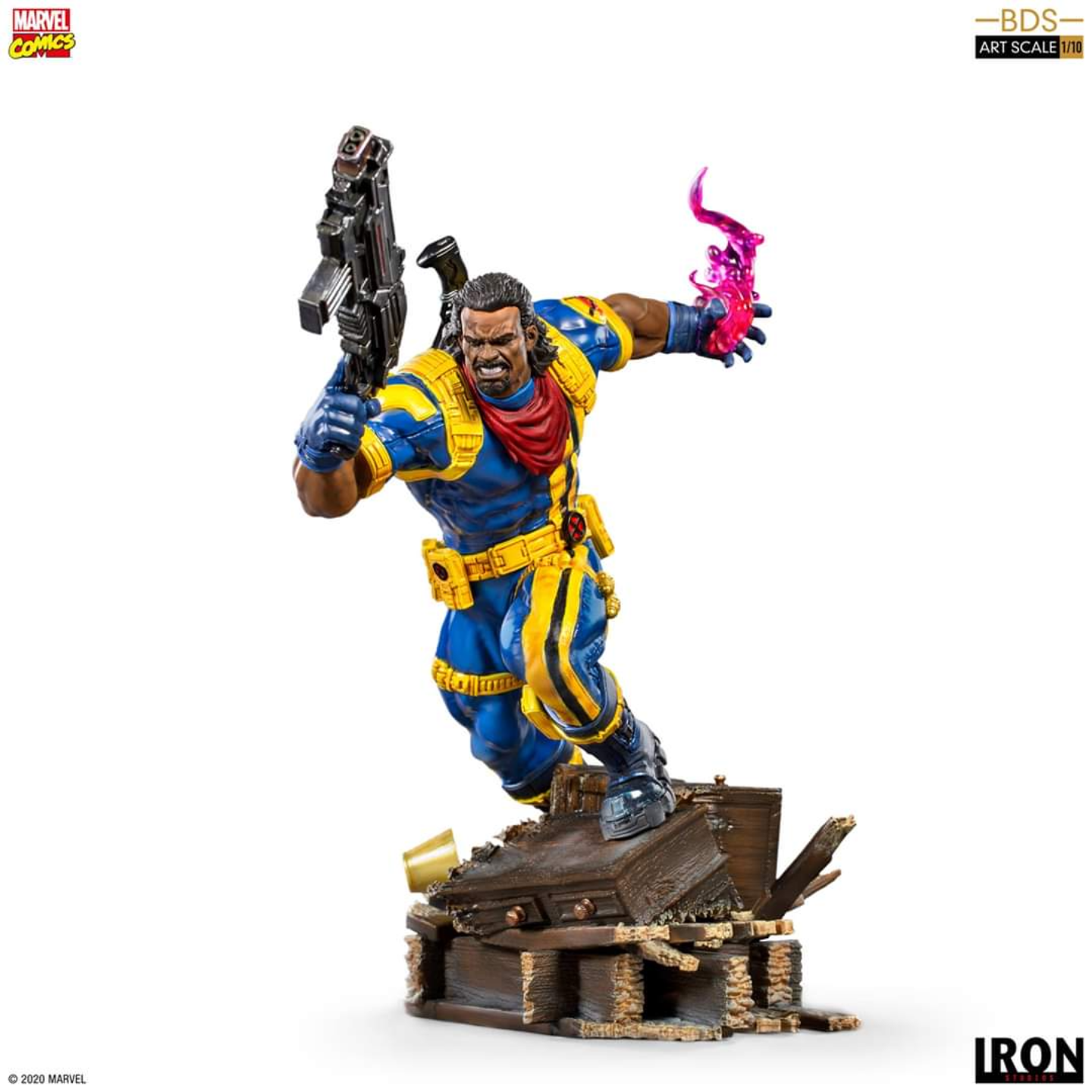 X-MEN BISHOP - IRON STUDIOS 110 STATUE PREORDER CLOSE 15072020